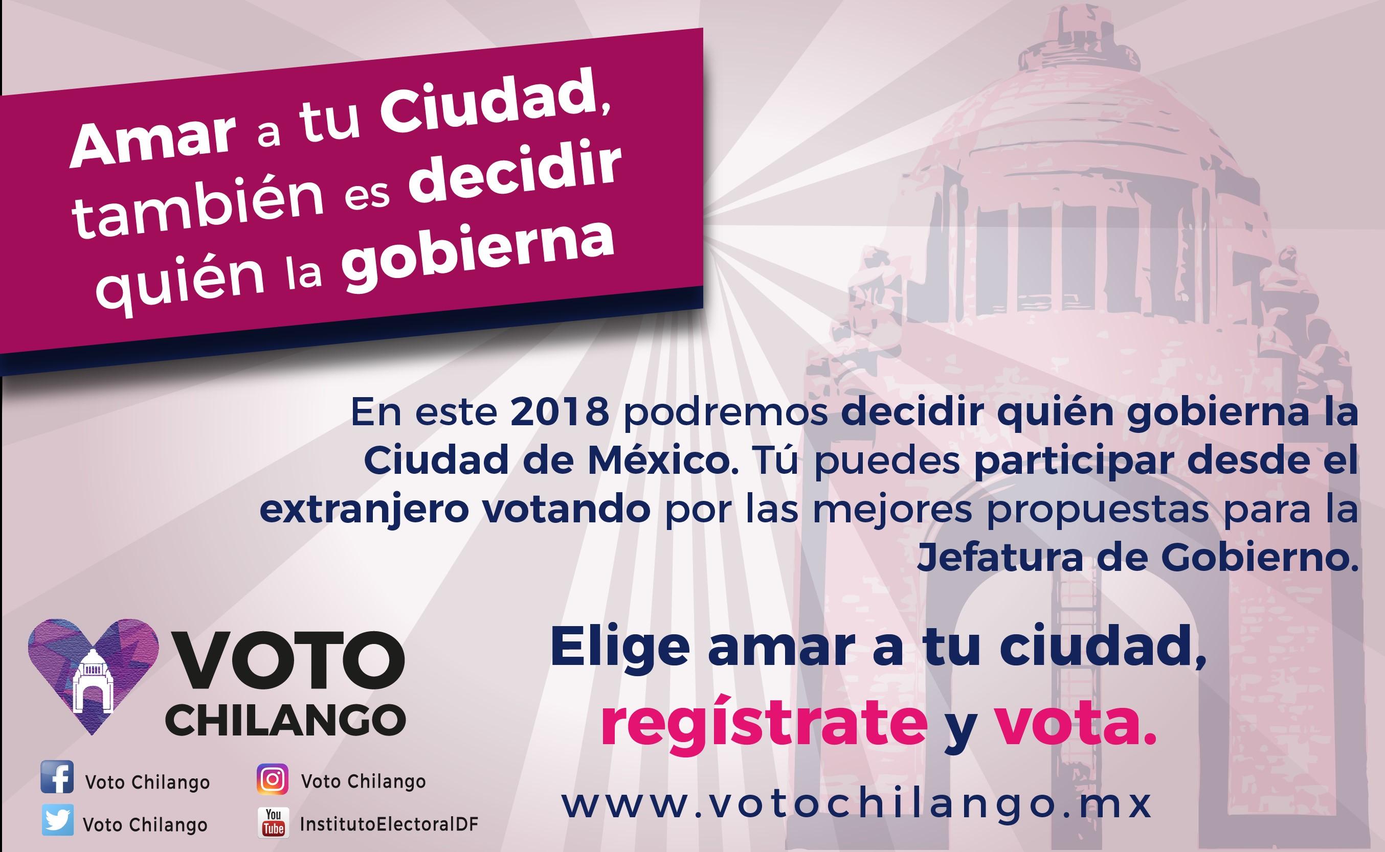 Voto Chilango!